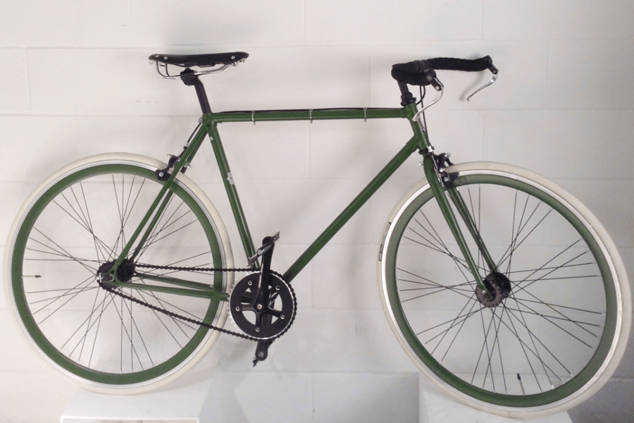 Bici scattofisso colore Verde Militare
