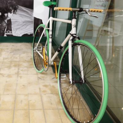 Ciclavia Bologna Bici Scattofisso Verde Oro
