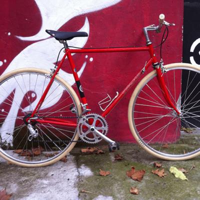 Ciclavia Bologna Bici Rebuilt Olympia Rossa Beige