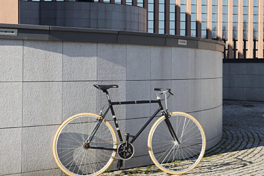 Bici Urban Uomo Nera Beige