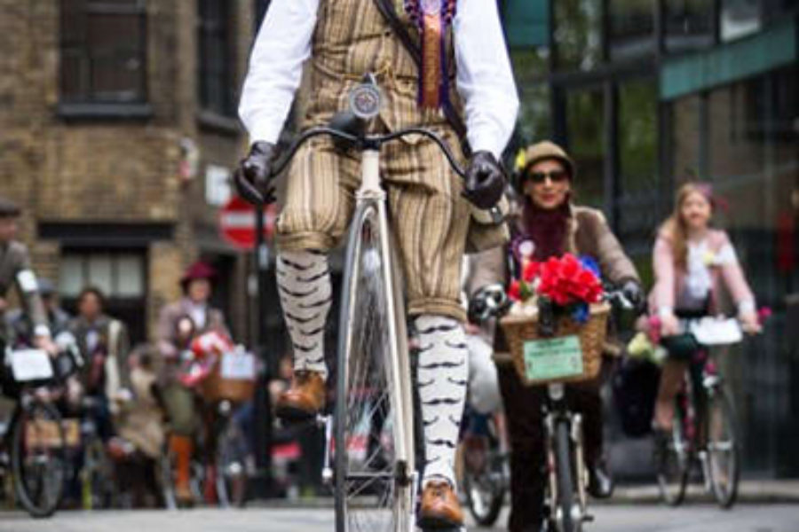 Bike Tweed Run, un'amtosfera imperdibile