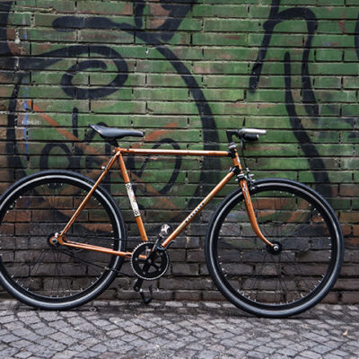 Ciclavia Bologna Bici Rebuilt Peugeot Arancio