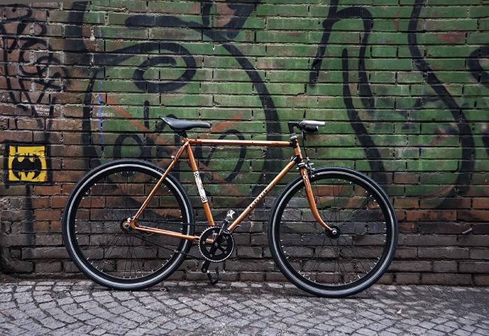 Bici Artigianale Rebuilt Peugeot Con Ruote Contropedale Ciclavia