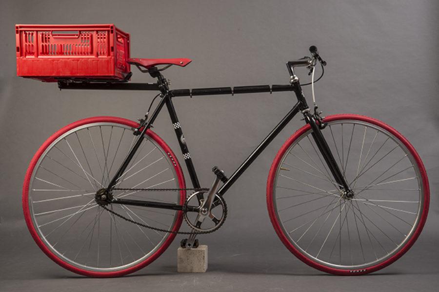 Urban Bike Nera e Rossa