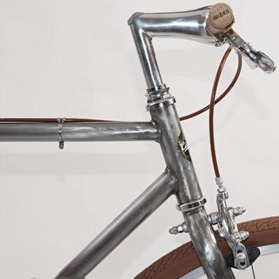 Ciclavia Bologna Bici Urban metallo fresato single speed artigianale