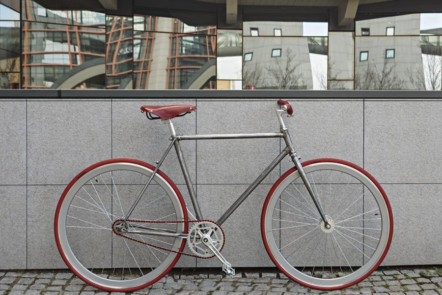 Bici scattofisso con telaio de-luxe